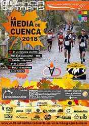 """[2018] VII MEDIA MARATÓN """"CUENCA DE TAPAS"""" in OCTUBRECartel_Media_Maraton_Cuenca_2018"""
